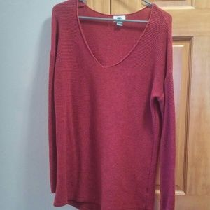 Old Navy Sweater Maroon Large